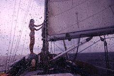 This 34-year-old woman has sailed solo around the world for 10 years.  AMAZING journey! http://www.theplaidzebra.com/captain-liz-clark/  10_Captain Liz Clark