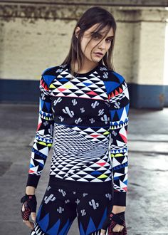 From printed baselayers to sleek ski jackets, it's time to get slope ready in chic and technical skiwear.
