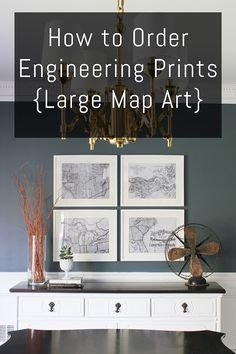 Dos and donts for the engineering print engineering prints large how to order engineering prints large map art diy on the cheap malvernweather Choice Image