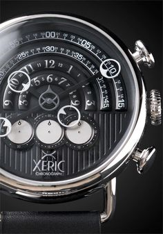 Xeric Halograph Chrono Black Watch