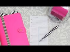 {How to} Project Planning & Goal Tracking with a Filofax | Strange & Charmed