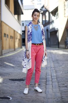 Bright summer colours are brought together with stylish Fashion Targets Breast Cancer accessories.