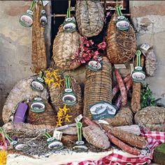 prodotti dell'Antica Corte Pallavicina della Famiglia Spigaroli