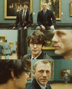 the combination of ben whishaw and daniel craig actually blew my mind. too much amazingness in one movie.