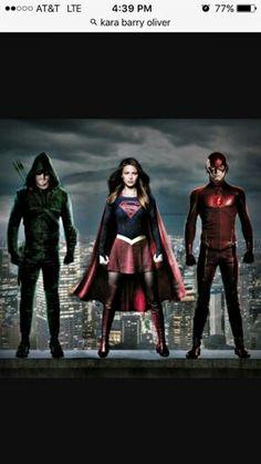 #Supergirl #TheFlash #Arrow