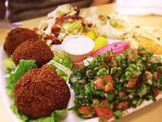 Falafel - Best Falafel Recipe Will try substituting coconut or chick pea flour for wheat flour
