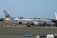 https://flic.kr/p/qpgNiv | JAL, Boeing 787-8 Dreamliner | PHNL (Honolulu International, Hawaii Dec. 28, 2014