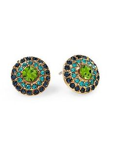 Tinley Road Pave Circle Stud Earring | Piperlime