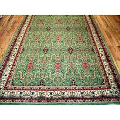 You'll love the Yazd Hand-Knotted Green Area Rug at Wayfair - Great Deals on all Décor  products with Free Shipping on most stuff, even the big stuff.