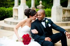 Red, White & Black Wedding from Rebekah Hoyt Photography