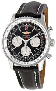 Breitling Men's AB012012-BB01 Navitimer Chronograph Stainless Steel Watch- Producing timepieces of immeasurable quality, Breitling is one of the last remaining independent Swiss watchmakers. Strap this one on for the look and feel of success you've been looking for!