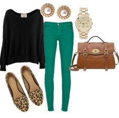 So many good things about this outfit! Id like these shoes!