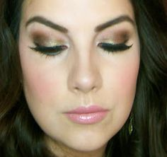 Beauty Broadcast: Olive Smokey Eyes with Too Faced Natural at Night