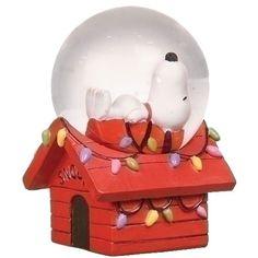 Snoopy Water Globe