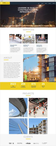 Strategy, branding, \ marketing including corporate identity - construction work proposal template