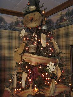 deppenhomestead1862: ~ Here & there Christmas Decorating~