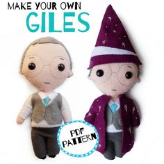 Giles PDF pattern bundle Make Your Own, How To Make, Christmas Birthday, Give It To Me, Felt, Pdf, Teddy Bear, Easter, Fancy