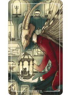 The Devil - Ostara Tarot