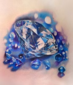 Diamond Tattoo by Russian tattoo artist Maya A of tattoo parlor Kaliningrad Ink (тату салон Калининградские чернила). Located in Kaliningrad Oblast, Russia.  http://kdink.com/galna/&anno=2 http://www.tattooartists.ru/photoplog/index.php?s=67c9f64a465865d9a67b93a87970e0de&u=12864