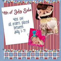 HunnyBunny Designs: Fourth of July Sale 40% off your entire order July 1-7, 2012!