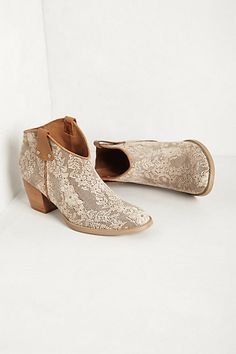 Tuscon Booties #anthropologie these would be cute with a mid length sun dress.