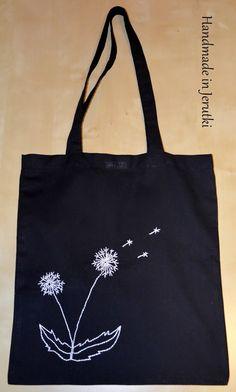 Handmade in Jerutki: Torba bawełniana - latwace/dmuchawce / shopping bag