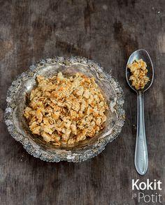 Kokit ja Potit -ruokablogi: Pecorinocrumble – rapea lisä salaattiin