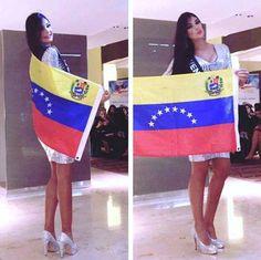 Miss Earth Venezuela 2015, Andrea Rosales a su llegada a  Austria para Representar al País, en el Miss Earth 2015,