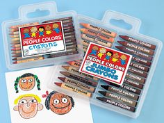 People Colors® Crayons -my students loved these! I love all the different colors of skin!  #LakeshoreDreamClassroom