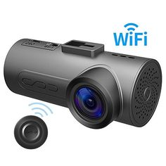 """HaloCam C1 Plus Car Dash Cam FHD 1080P Car Cam WiFi Dashboard Camera with 170° Wide Angle SONY Lens Super Night Vision G-sensor Loop Recording  【FHD 1080P & 170° Wide Angle Lens】Sony IMX291 star light Sensor captures everything in sharp full 1080p resolution with an expanded 170° field of view.【Built-in Wi-Fi Car Dash Cam】 Use remote controller to take pictures or make videos and share it instantly on facebook/twitter/youtube etc from """" HaloCam Auto"""" which can download in AppStore a.."""