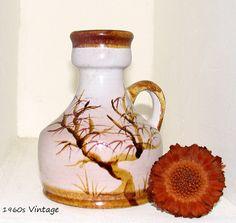 Retro Vase LAVA West GERMANY Mid Century Kostbares Sammlerstück Fat Lava 1960er