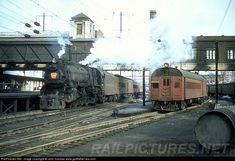 RailPictures.Net Photo: PRR 1120 Pennsylvania Railroad Steam 4-6-2 at Trenton, New Jersey by John Dziobko www.godfatherrails.com