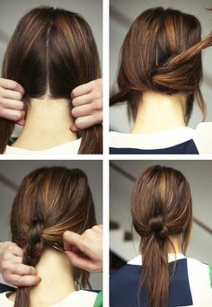 24 Super Quick and Easy Hairstyles For Women