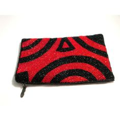 iPurse Phone Case-Purse- Abstract Swirl Red/Wallet/Pouch Phone case/Wallet/Evening purse/Pouch ($35) found on Polyvore