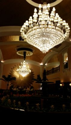 The Amway Grand Plaza in Grand Rapids, MI. Beautiful art deco decor.