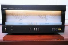Extremely rare Technics SE-A3 Mk2 stereo power amplifier...