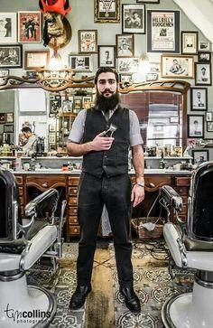 The ultimate dandy, latin lover, Fab Faab. #schorem #beard #barber #rotterdam #barbers