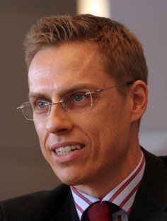 Minister for European Affairs and Foreign Trade of Finland, Alexander Stubb