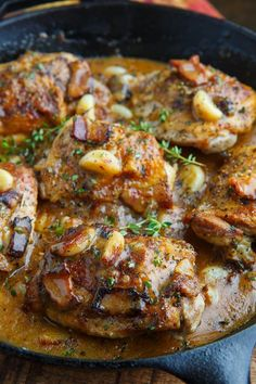 Rustic Roasted Garlic Chicken with Asiago Gravy recipes family;dinner recipes for family;healthy recipes for family;recipes for family; Food Dishes, Main Dishes, Dishes Recipes, Cuisine Diverse, Cooking Recipes, Healthy Recipes, Keto Recipes, Cooking Ideas, Dog Recipes