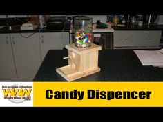 Make a Push Button Candy Dispenser - YouTube