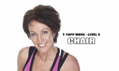 """This 18-minute workout, done while sitting in a chair, is a bit more challenging than the sit down workouts featured in the T-Tapp MORE Rehab Program and in MORE-Level 2. Teresa's addition of """"leverage isometrics"""" definitely makes it more aerobic and its progressive design will continue to challenge as you become stronger too!"""
