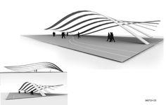 Latest by Christopher Ledbetter at Coroflot.com Cathedral Architecture, Pavilion Architecture, Landscape Architecture Design, Sustainable Architecture, Residential Architecture, Contemporary Architecture, Concept Models Architecture, Parque Industrial, Parametric Design