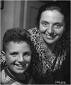 Alice Herz-Sommer and her son Raphael. See her story in the musical documentary, The Lady in Number 6