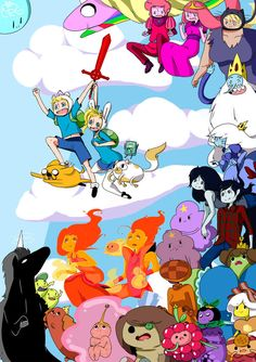 ADVENTURE TIME!!! by RanchingGal on DeviantArt