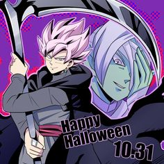 Twitter Black And Zamasu team Halloween