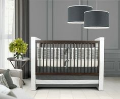 Oilo Studio Sticks 3 Piece Crib Set  #projectnursery #franklinandben #nursery