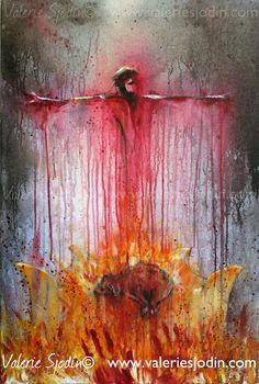 Christian artist explores the theme of sacrifice.