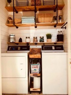 """Visit our site for even more info on """"laundry room storage diy small"""". It is an … – Laundry Room Small Laundry Rooms, Laundry Room Organization, Laundry Room Design, Organization Ideas, Storage Ideas, Storage Shelves, Small Shelves, Laundry Room Shelves, Laundry Decor"""