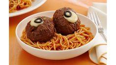 Espaguetis con ojos de albóndigas, una receta fácil y rica para niños - Juntines.com