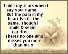 Don't you ever think because I'm able to smile and seem happy that I don't miss my Gus ! I grieve! I CRY and scream and no one misses you like I do. I Miss You So Very Much Gus ❤❤❤💔💔💔 Dog Quotes, Life Quotes, Qoutes, Miss U Mom Quotes, Attitude Quotes, Dad In Heaven Quotes, Missing Quotes, Couple Quotes, Rip Daddy